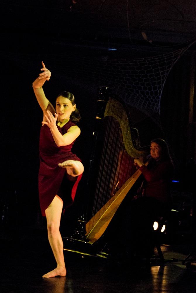 Strings Attached, Nishi Playhouse 2016. Photographer: Lorna Sim