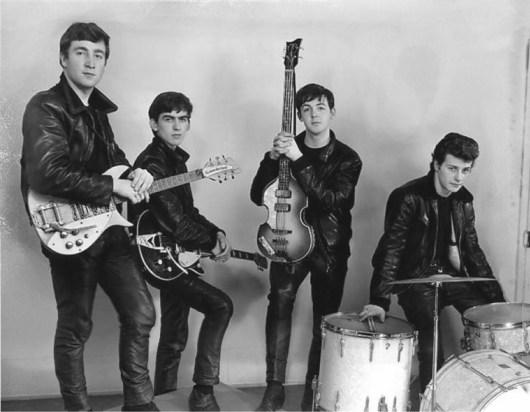 Leather Clad Beatles (photo credit Albert Marrion)