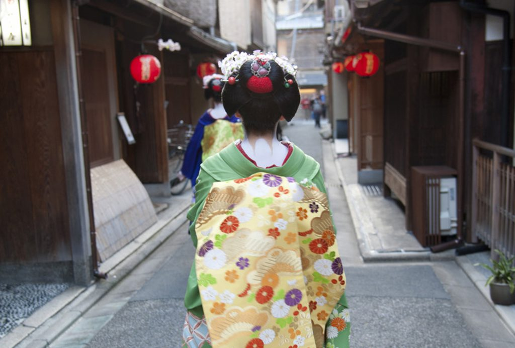 Geisha in Kyoto, Japan