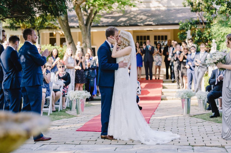 Real weddings: Sarah and Justin