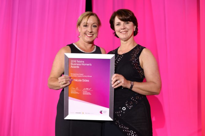 Fertility clinic founder named Telstra ACT Business Woman of the Year