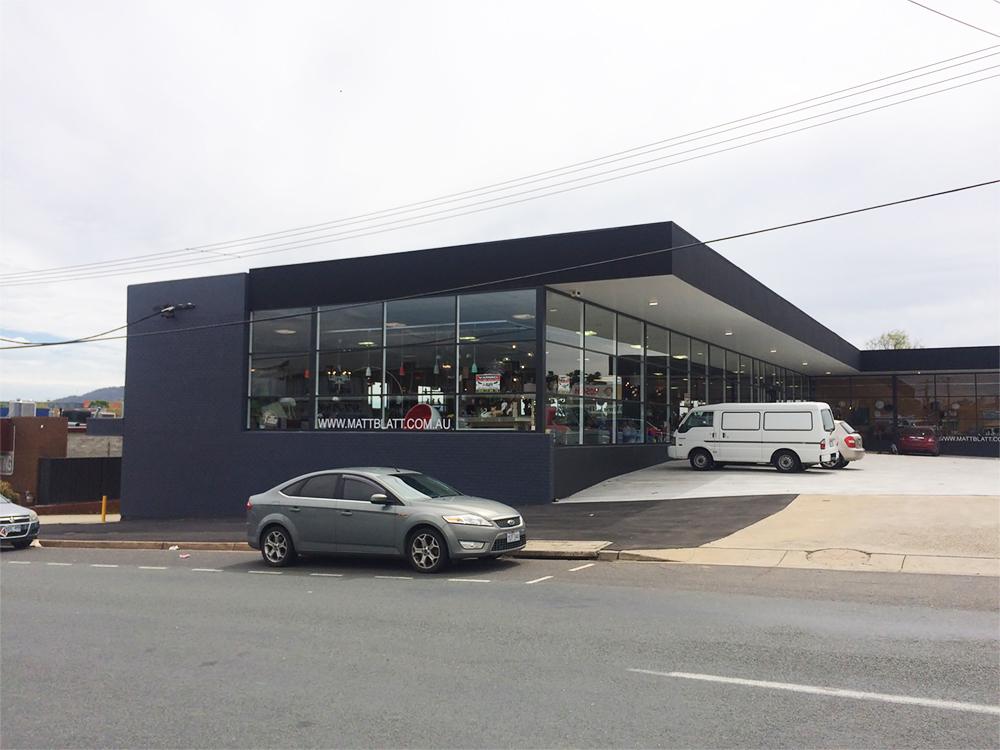 Matt Blatt's new storefront in Fyshwick