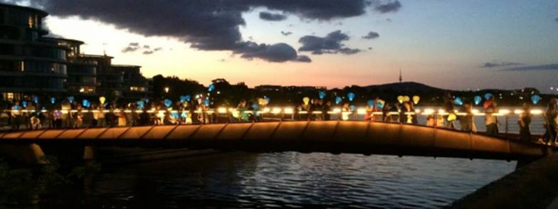Canberra Light The Night is on this Friday.