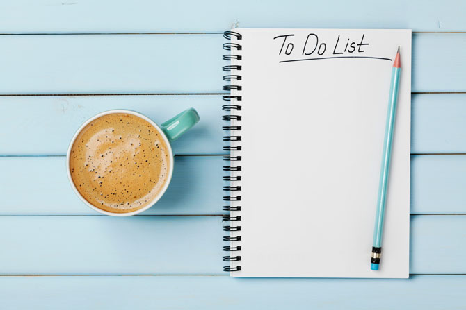 What if this was your last 'to do' list?