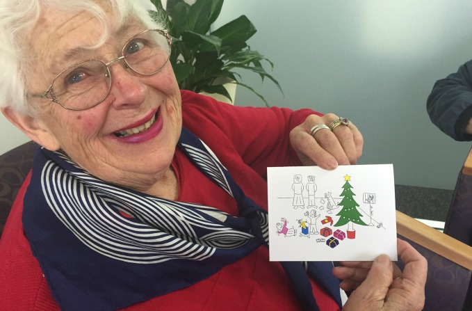 Christmas cards full of Canberra