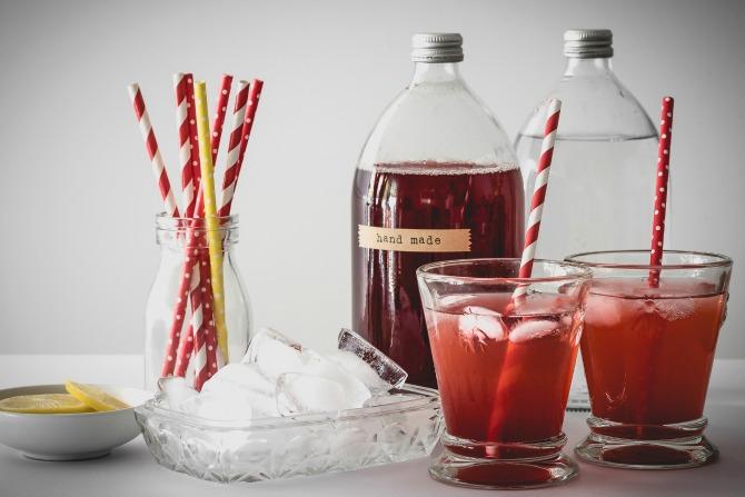 Handmade Christmas Giving: Raspberry and Lemon Cordial