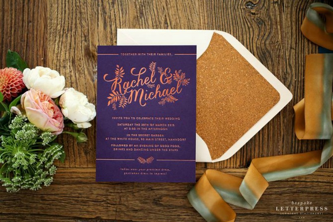 Wedding stationery to lust over