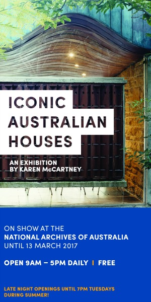 NAA Iconic Houses Space Ad