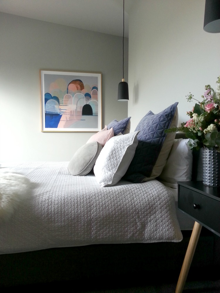 Gina's master bedroom room reveal