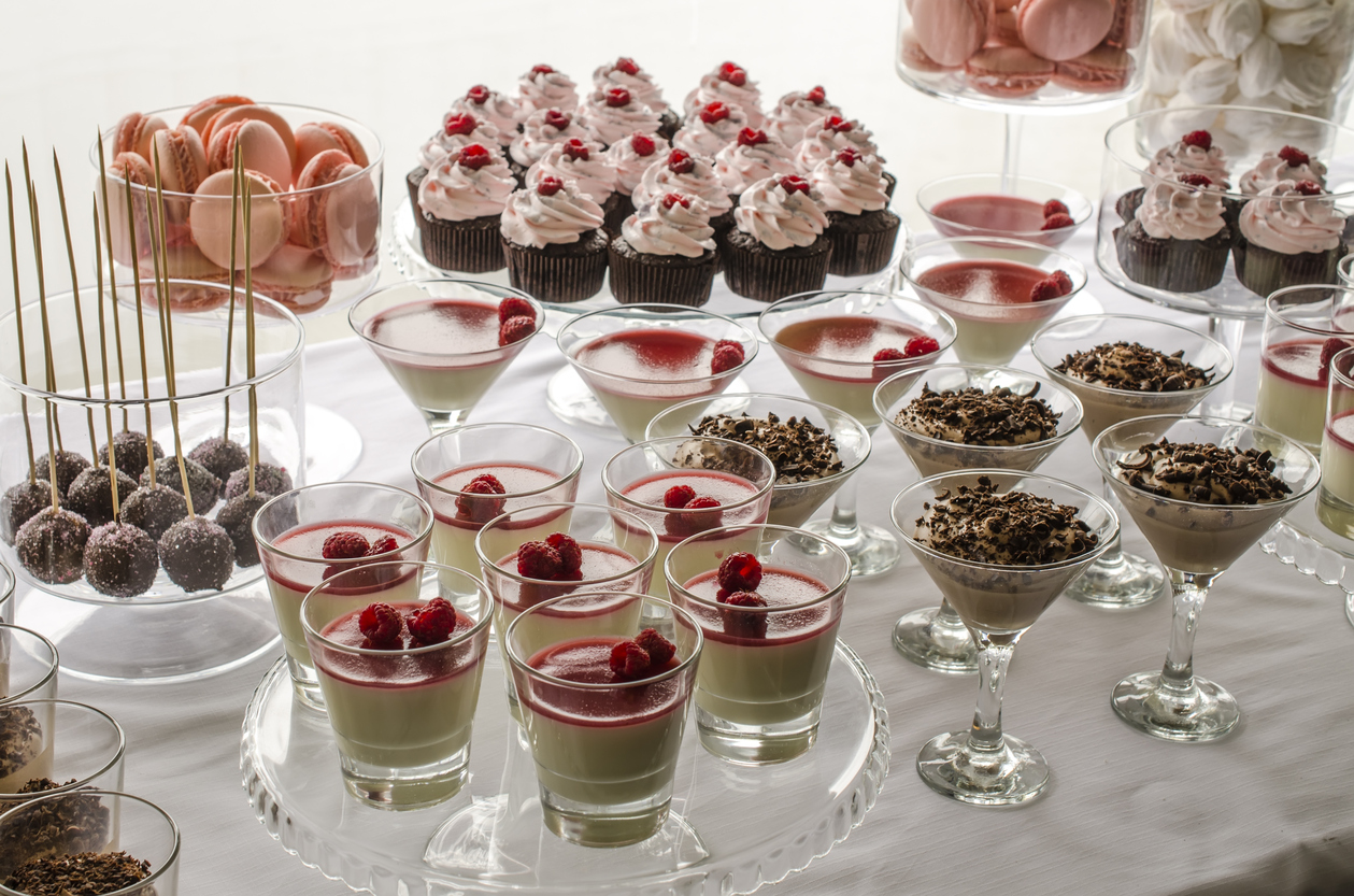 beautiful sweetsBuffet with sweets