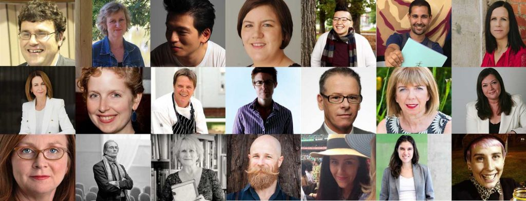 Some of Festival Muse's speakers and guests
