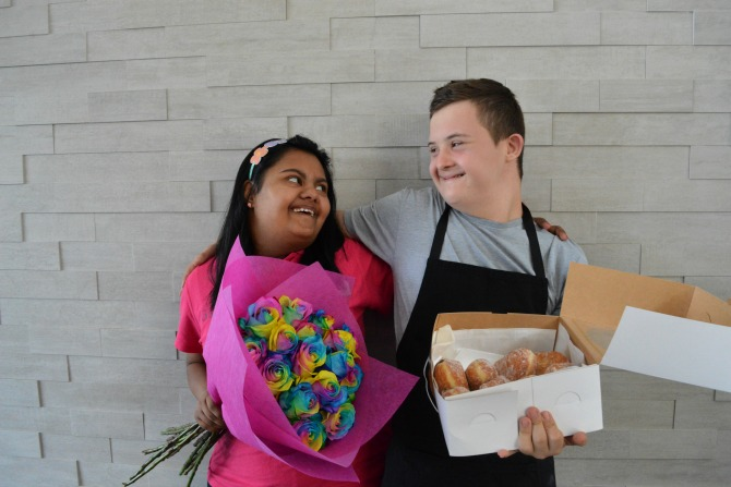 Flowers + donuts: A match made in heaven