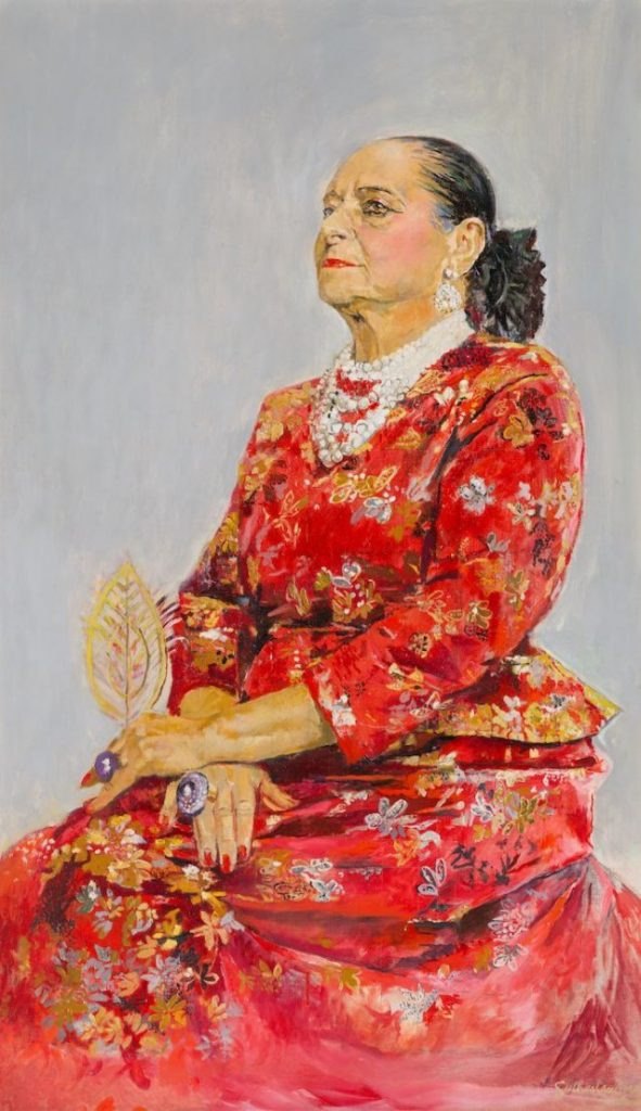 Helena Rubinstein by Graham Sutherland