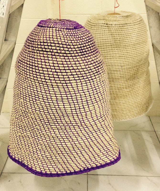 Lampshade product development, Port Moresby, PNG