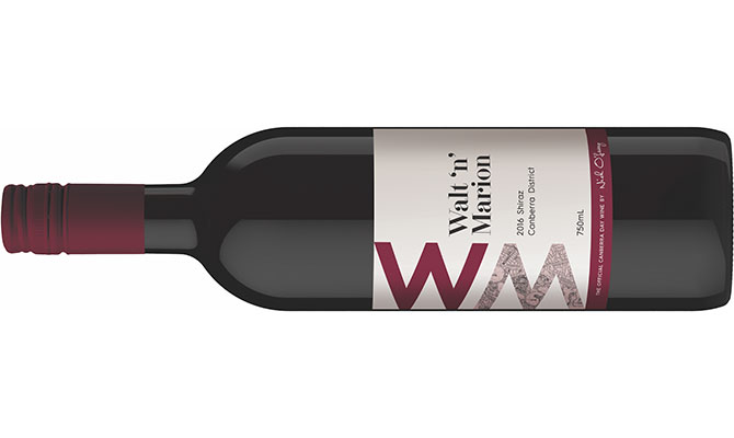 Walt 'n' Marion: Canberra's Official Wine