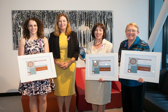 Marie-Louise Corkhill named ACT Woman Of The Year