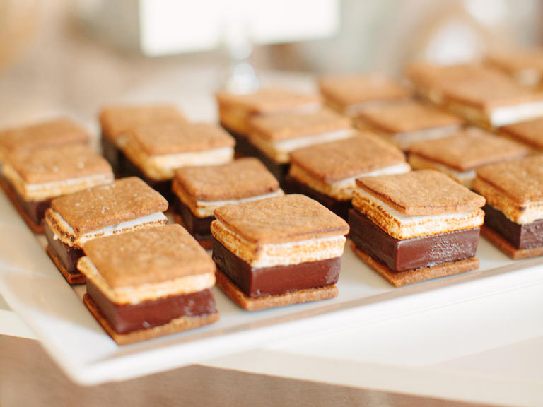 Seasonal wedding desserts inspiration