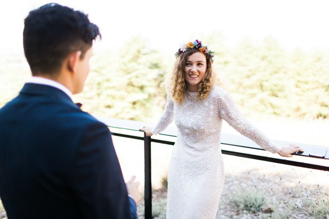 Laura and Carlo's relaxed small wedding. Photo: Canberra Small Weddings