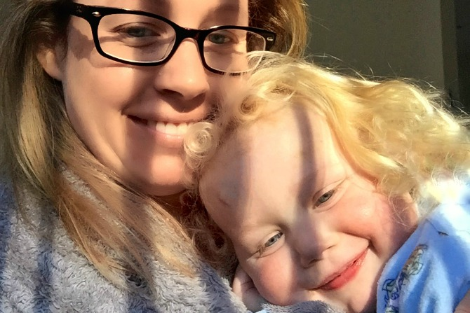 A mother's experience with cystic fibrosis