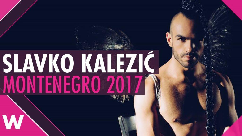 Montenegro entrant.. Image via facebook.com/Eurovision