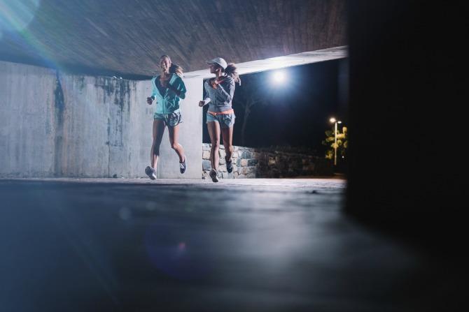 Safety after dark: exercising at night