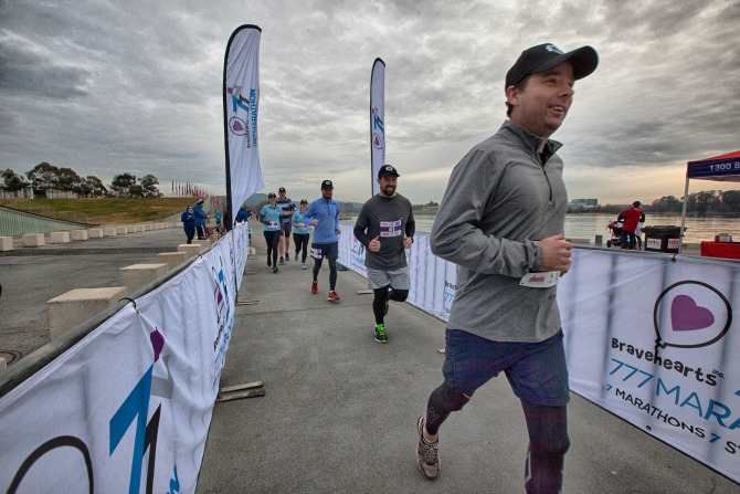 Police join marathon to raise awareness about child protection