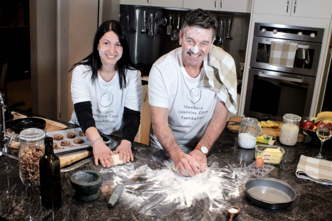 Baking for a better future for Canberra's babies