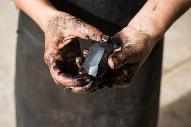 Reclaiming coal for art's sake