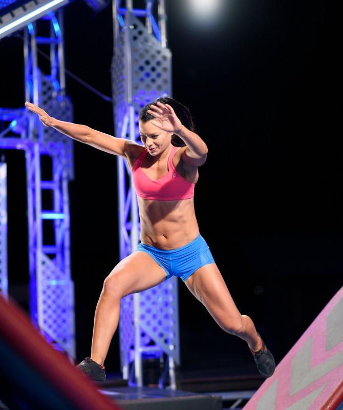 Jenna Douros Ninja Warrior