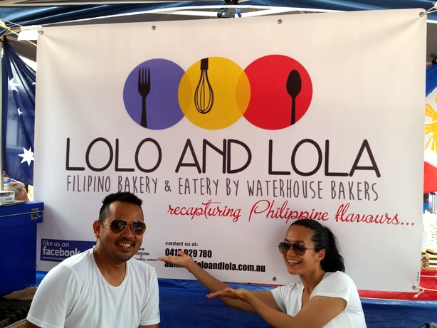 Jay and Kim launching Lolo and Lola in 2015
