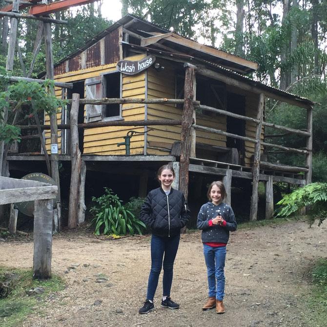 The Original Gold Rush Colony at Mogo.