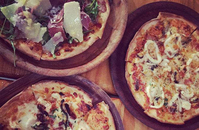 Sam's Pizzeria.