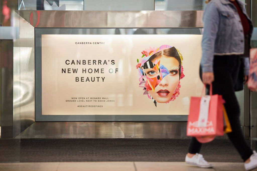 Canberra Centre's new beauty precinct is a must-visit. Image: Facebook.