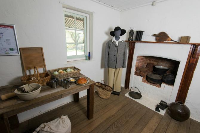 Inside Blundells Cottage