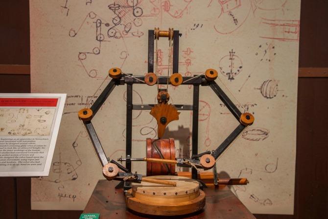 Da Vinci's Automoton