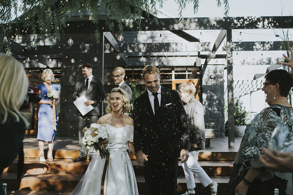 Real Wedding: Julia and Anthony