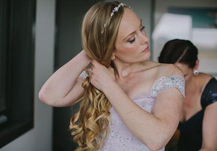 Real Wedding; Keeley and Chris