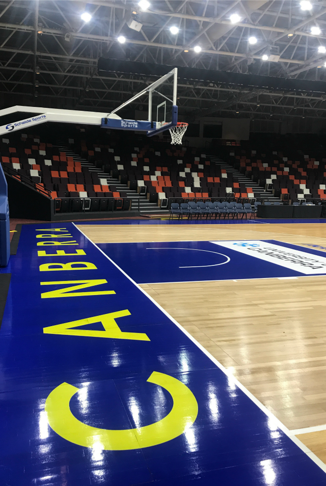 City Centre Court: The WNBL comes to Civic