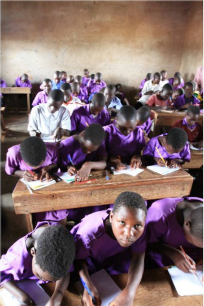Uganda_Students supported to stay in school
