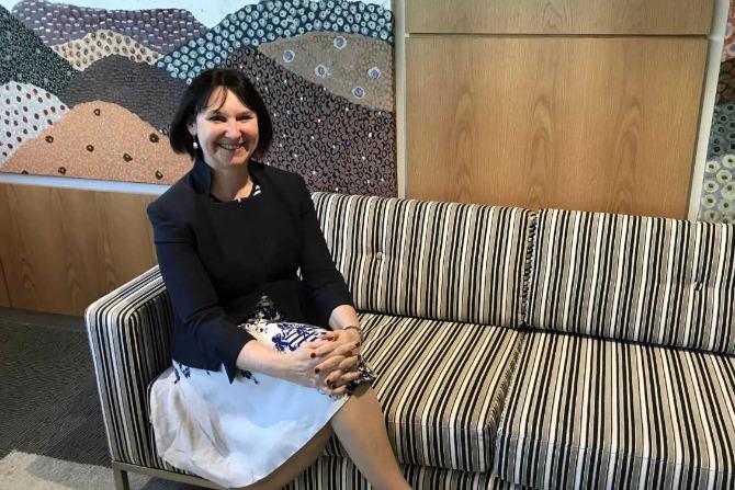 Kerri Hartland, our newest top female bureaucrat