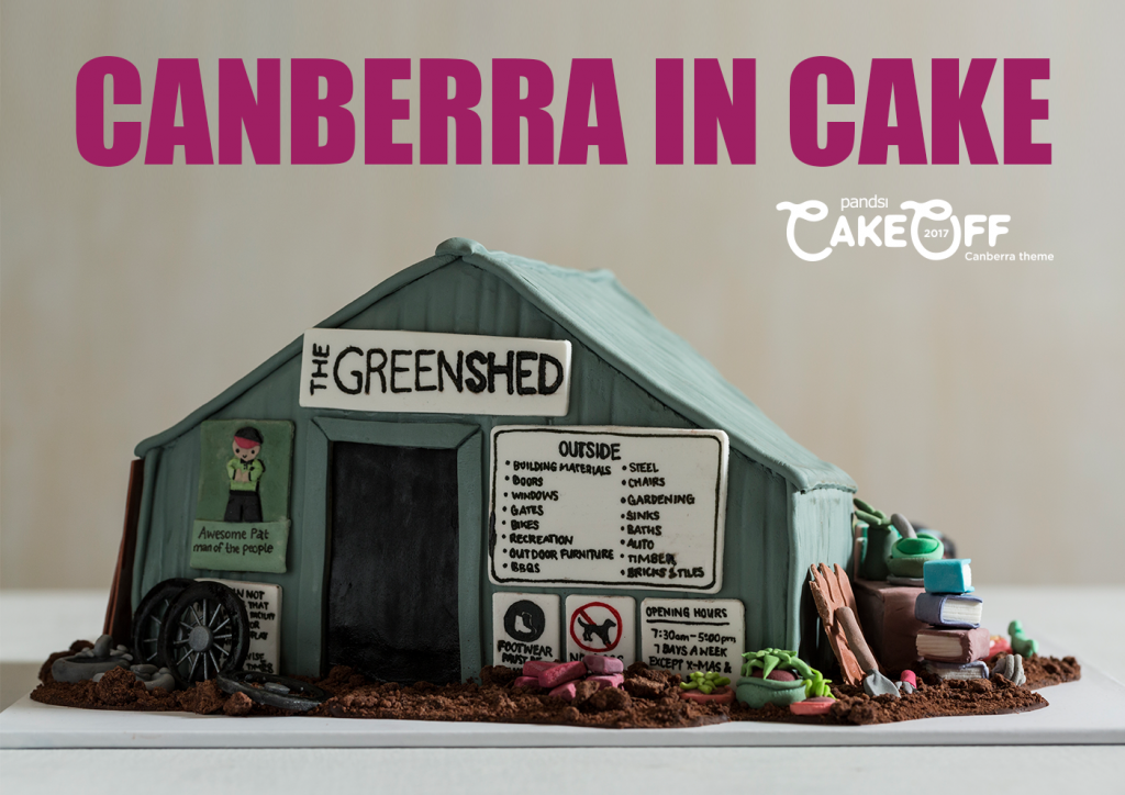Cover Design Canberra in Cake