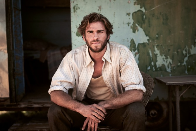 The Dressmaker - Liam Hemsworth as Teddy McSwiney by Ben King.
