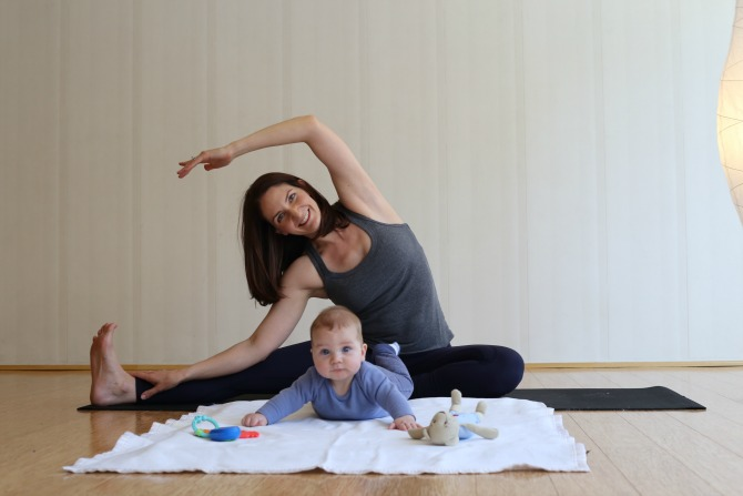 Yoga Mums Fitness Feature