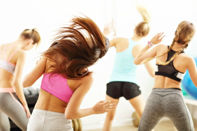 Zumba for our farmers