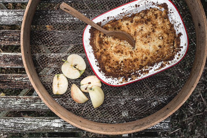 Recipe: Apple Crumble