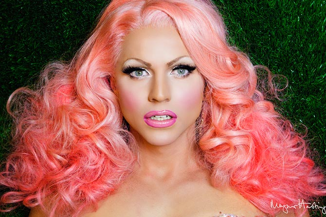 Courtney Act in Cartier