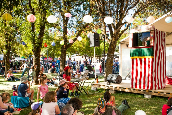 National Folk Festival: what's on offer for kids and foodies