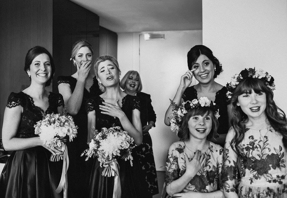 How to ace being in a bridal party