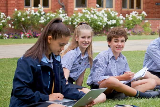 Two years on – Canberra Grammar girls out in force