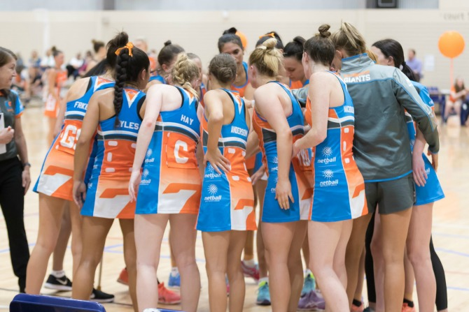 Canberra GIANTS netball star Ngawai Eyles is ready for anything
